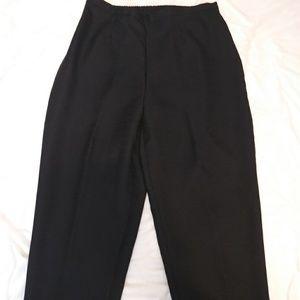 Sag Harbor plus size black pants